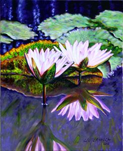 Beauty on the Pond - Paintings by John Lautermilch