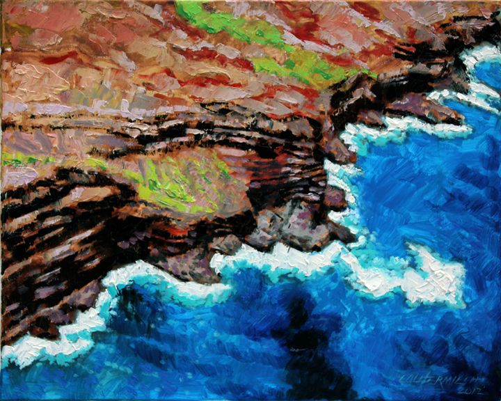 Building Layer by Layer - Paintings by John Lautermilch