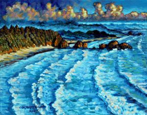 Never Ending Waves - Paintings by John Lautermilch