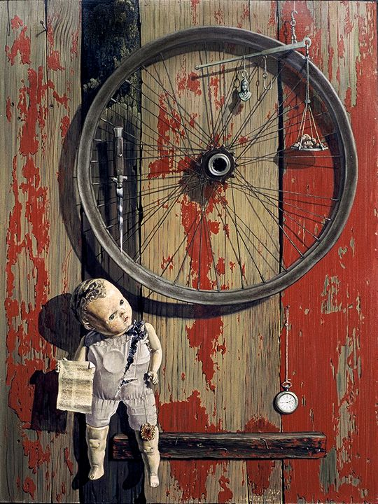 All Is Vanity - Paintings by John Lautermilch