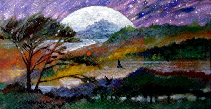 Memories of California - Paintings by John Lautermilch