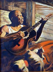 Soul Music - Paintings by John Lautermilch