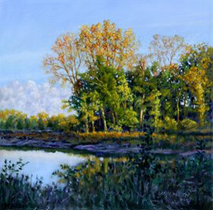 Quiet Cove - Paintings by John Lautermilch