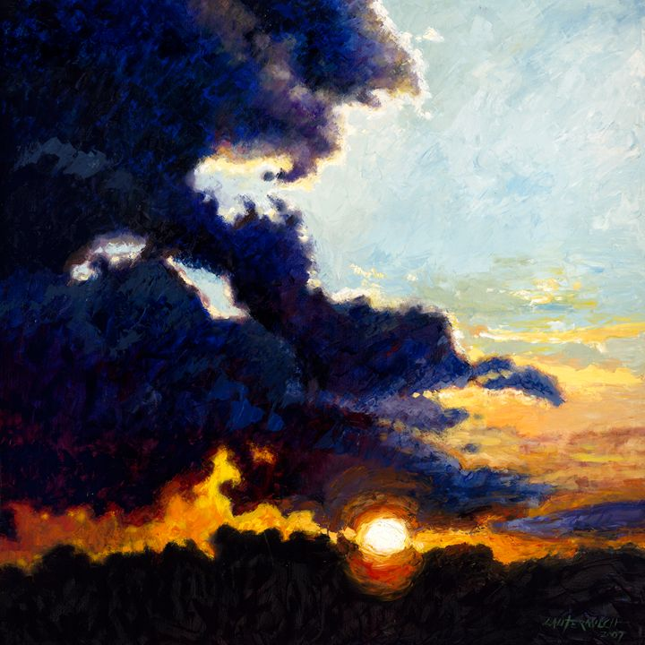 Separating the Light from Darkness - Paintings by John Lautermilch