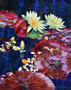 Fall Patterns - Paintings by John Lautermilch
