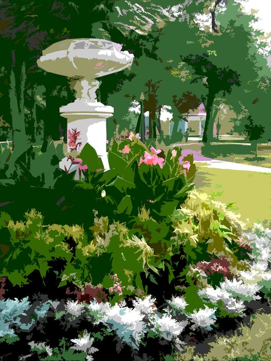 Tower Grove Park 2 - Paintings by John Lautermilch