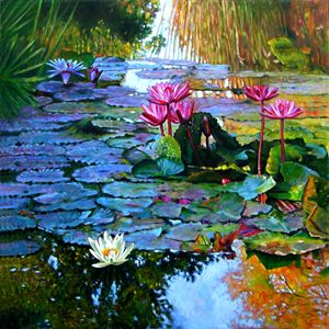 Expressions from the Garden - Paintings by John Lautermilch