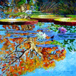 The Reflections of Fall - Paintings by John Lautermilch