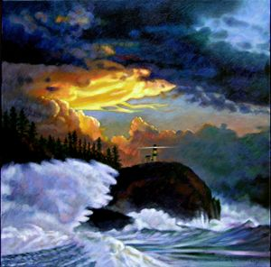 Shelter from the Storm - Paintings by John Lautermilch