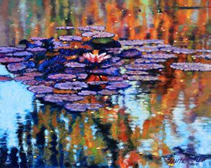 """Reflections of Autumn"" - Paintings by John Lautermilch"
