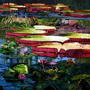 Tapestry of Color and Light - Paintings by John Lautermilch