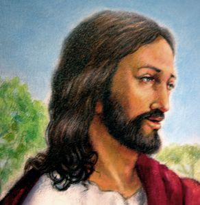 Head of Christ - Paintings by John Lautermilch