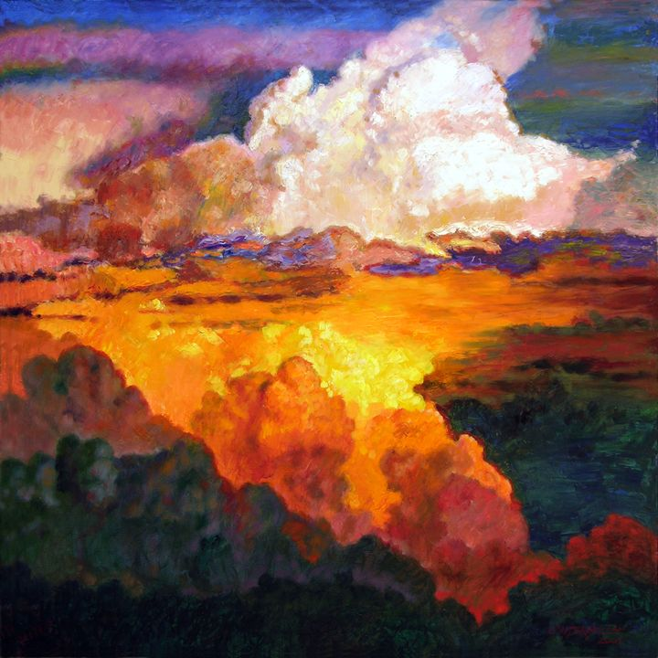 I'll Fly Away Oh Glory - Paintings by John Lautermilch