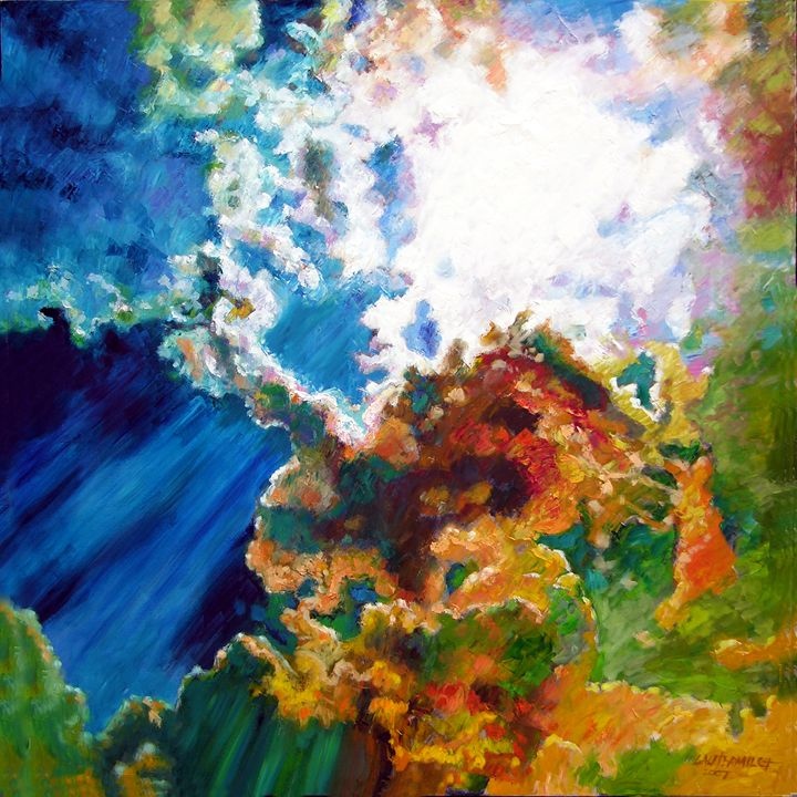 Sunburst - Paintings by John Lautermilch