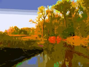 Fall Setting In - Paintings by John Lautermilch
