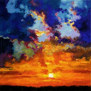 Some Glorious Day Break - Paintings by John Lautermilch