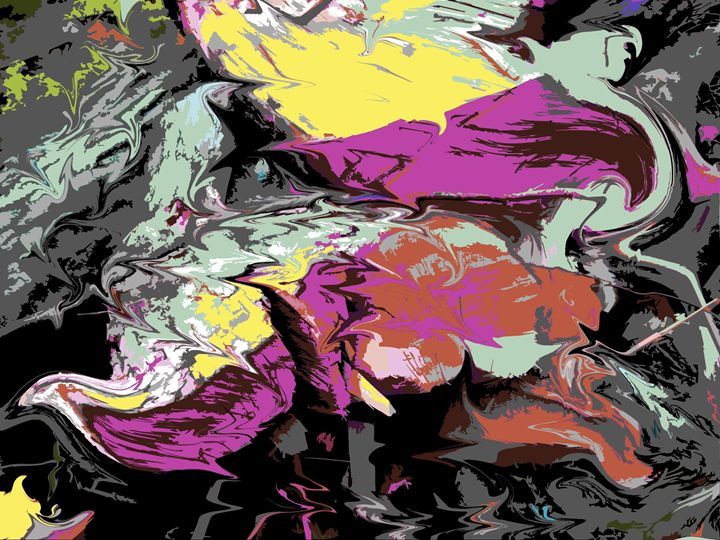 Liquified - Paintings by John Lautermilch