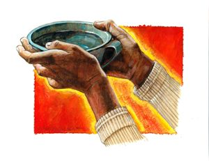 A Cup of Water - Paintings by John Lautermilch