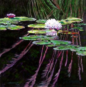 Peaceful Reflections - Paintings by John Lautermilch