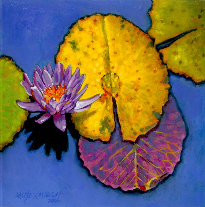 Fall Explosion - Paintings by John Lautermilch