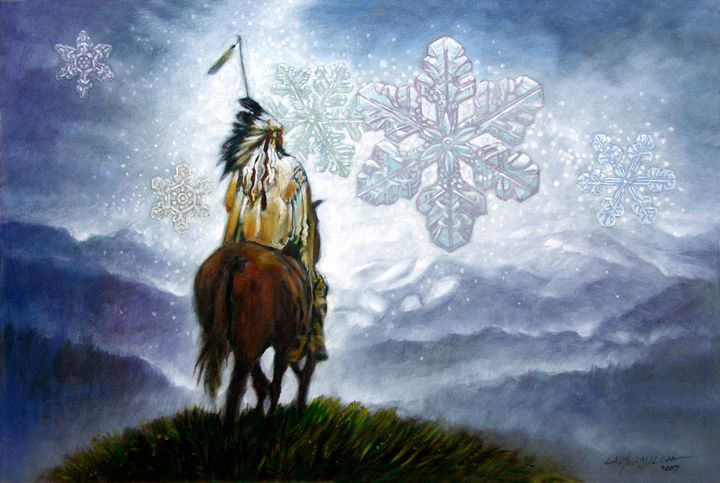 We Vanish Like the Snowflake - Paintings by John Lautermilch