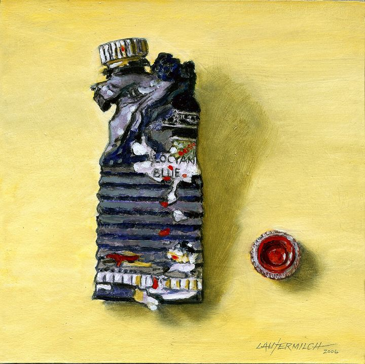 Busted Tube - Paintings by John Lautermilch