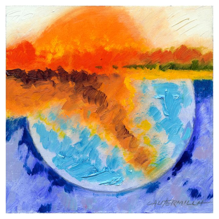 Warming Planet - Paintings by John Lautermilch