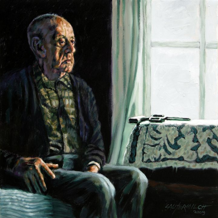 The Decision - Paintings by John Lautermilch