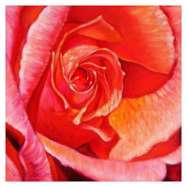 Heart of the Rose - Paintings by John Lautermilch