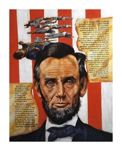 Lincoln - Paintings by John Lautermilch