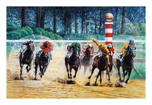 In The Winner's Circle - Paintings by John Lautermilch