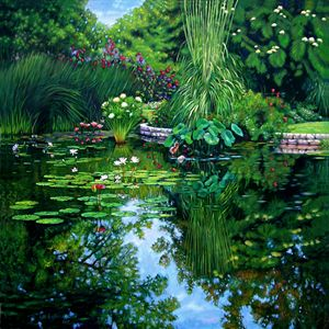 Peace Floods My Soul - Paintings by John Lautermilch