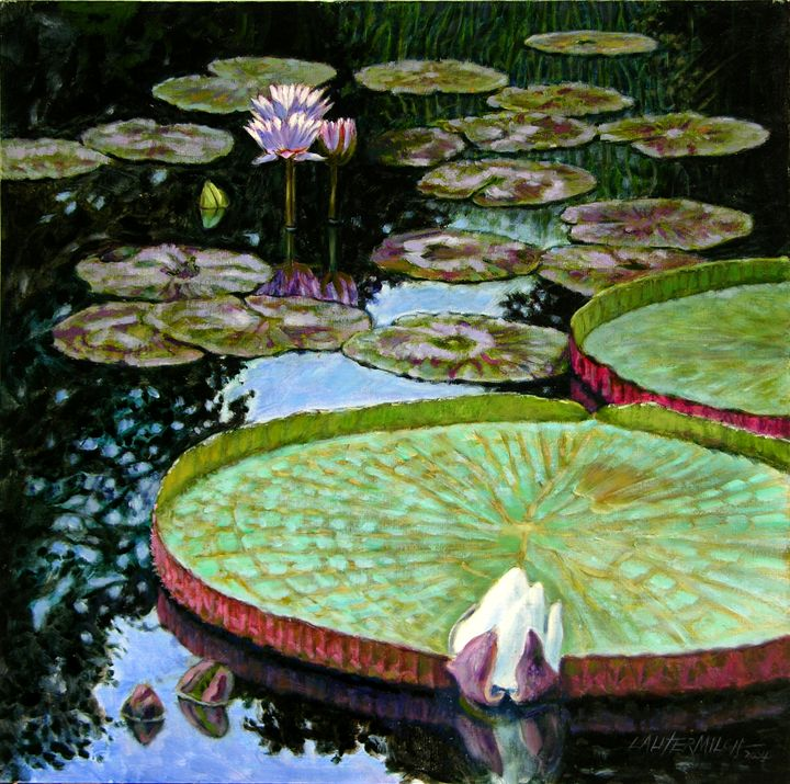 Calm Reflections - Paintings by John Lautermilch
