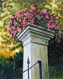 Entrance to the Garden - Paintings by John Lautermilch