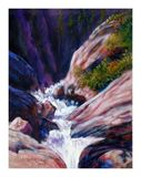 Rushing Waters 42-2004 - Paintings by John Lautermilch