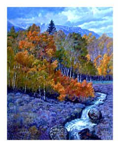 Rocky Mountain Gold 61-2004 - Paintings by John Lautermilch