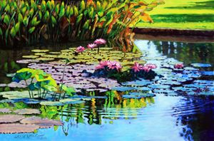 Oh What A Glorious Day - Paintings by John Lautermilch