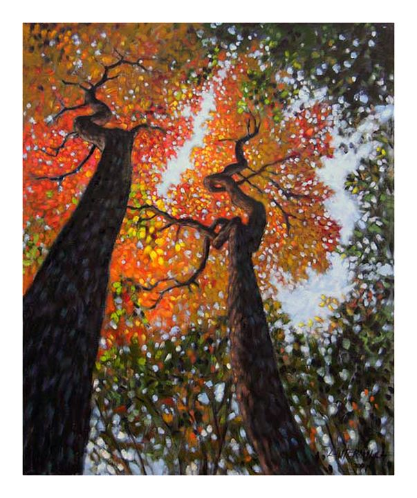 Reaching for the Light - Paintings by John Lautermilch