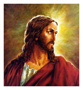 Portrait of Christ - Paintings by John Lautermilch