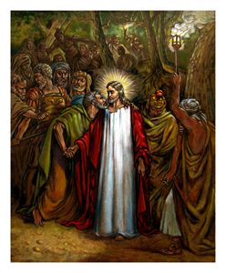Jesus Betrayed - Paintings by John Lautermilch