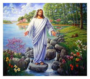 Jesus in the Ozarks - Paintings by John Lautermilch