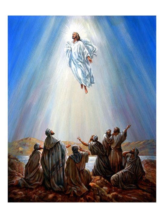 Jesus Resurrection - Paintings by John Lautermilch
