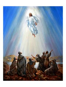 Jesus Resurrection - Paintings by John Lautermilch