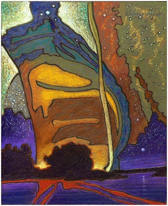 Eternal Spirit of the Mystery - Paintings by John Lautermilch
