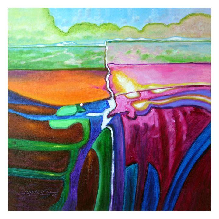 Tsunami - Paintings by John Lautermilch