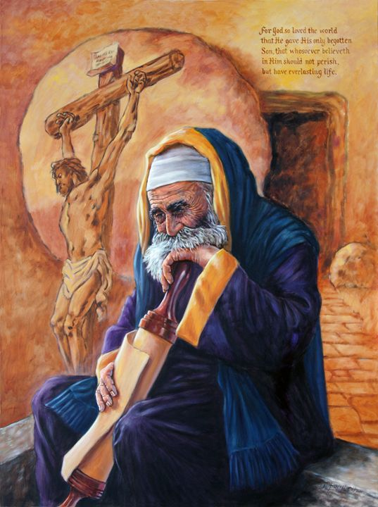 Nicodemus - Paintings by John Lautermilch