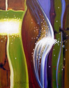 Abstract 1-2005 - Paintings by John Lautermilch