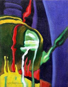 Abstract 5-2005 - Paintings by John Lautermilch