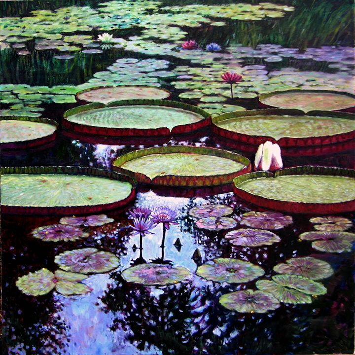 Beauty of Stillness - Paintings by John Lautermilch