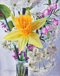 Spring Pickin's - Paintings by John Lautermilch